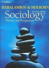 Sociology Themes & Perspectives - Martin Holborn, Michael Haralambos (Paperbac