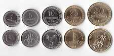 EAST TIMOR - 5 DIF UNC COINS FULL SET: 1 - 50 CENTAVOS 2003-2006 YEARS