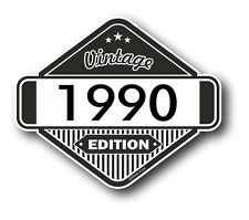 Vintage Edition 1990 Classic Retro Cafe Racer Style Vinyl Motorcycle car sticker