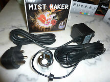 Halloween mist maker witch's mist  WITH FREE EXTRA MEMBRANE DISC AND TOOL!
