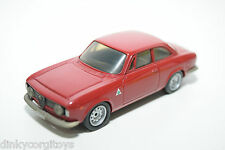 CENTURY 7 ALFA ROMEO GIULIA SPRINT GTA 1965 RED NEAR MINT CONDITION