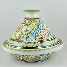 Moroccan Tagine TunisianTangine Pot Large Ceramic Serving Cooking Dish Clay New