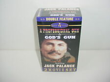 A Professional Gun Gods Gun 2 Movies VHS Video Tape Movie New Jack Palance