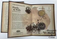 2010 Royal Australian Mint Burke & Wills - Two Coin Uncirculated Set