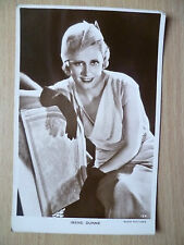 Vintage Film Star Real Photo Postcard- IRENE DUNNE, Radio Picture, No. 134