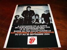 ROLLING STONES DISCOGRAPHY!!!!!!!!!!!!!FRENCH PRESS/KIT