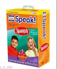 Your Baby Can Speak Spanish 3 disc Set (2 DVDs 1 CD & 104 language cards)