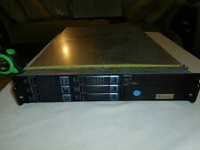 2U 6-Bay Server Chassis with fans, power switch, and 6 drive caddies
