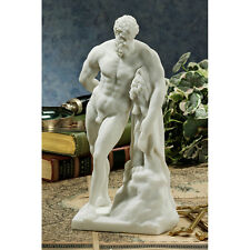 Hercules Statue, Nude Male Figurine, Greek God, Mythical Strongman, Son of Zeus