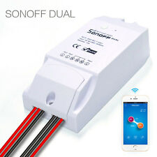WiFi Smart Cell Phone Remote Control Switch Module Home Automation Sonoff Dual