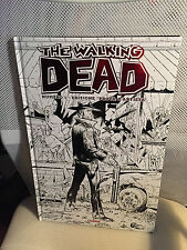 9.8 MINT THE WALKING DEAD # 1 RED METAL BIG SIZE ITALIAN EURO HC VARIANT SKETCH