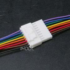 1pc Small 8pin terminal lead wire harness - Jack and Plug 8 Pin Wire & Socket