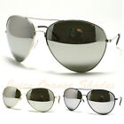 AVIATORS Sunglasses for MEN/WOMEN Super OVERSIZED Super DARK MIRROR LENS