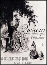 QUERCIA PROFUMO COLONIA CIPRIA ARONA SETTECENTO 1941