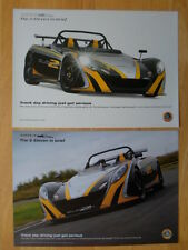 LOTUS 2 Eleven 2x Leaflet Brochures - 2009 - Track day driving just got serious