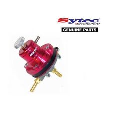 SYTEC MSV RACING FUEL PRESSURE REGULATOR - ADJUSTABLE 2-6 BAR (RED)