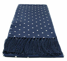 Michelsons UK - Narrow Polka Dot Silk Scarves