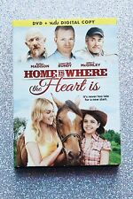 Home is Where the Heart Is DVD Bailee Madison-w/Slipcover-Nice-FREE SHIPPING
