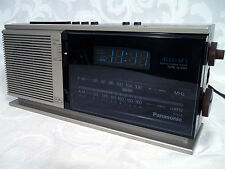 Vtg PANASONIC Model RC-6310 AM FM Digital Clock Alarm Radio Made in JAPAN