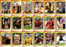 Liverpool FA Cup winners 2001 football trading cards