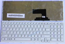 Laptop Keyboard for Sony Vaio PCG-71913L PCG-71914L VPC-EH VPCEH Series (White)