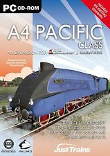 A4 Pacific Class: Add-On for Rail Simulator, Railworks & railworks 2 (PC) NEW