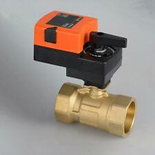 "1/2"" Proportional Modulating Motorized Ball Valve 2 Way 24VDC/AC On/Off"