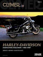 Harley Davidson FLH FLT FXR Glide Tour Da strada Scivolo 84-98 Clymer Manuale
