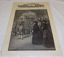 4/12/1884 Issue ILLUSTRATED LONDON NEWS/Funeral of Duke of Albany,Prince Leopold