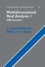 Multidimensional Real Analysis I: Differentiation (Cambridge Studies i-ExLibrary