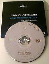 2011 Update 2007 2008 Acura TL & TL Type-S Navigation White DVD Map U.S Canada