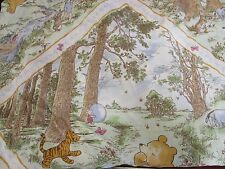 Winnie The Pooh 100 Acre Wood Shower Curtain Springs Home 50/50 poly cotton