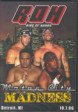 ROH Wrestling Motor City Madness DVD, Ring Of Honor