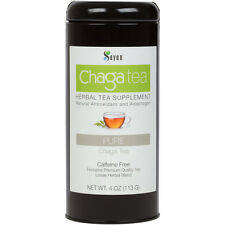 Siberian Chaga Mushroom Wild Organic Loose Tea Premium blend of raw extract 4oz