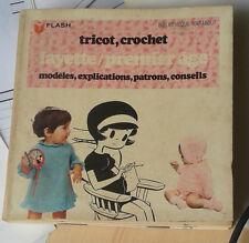 Tricot, crochet. Layette / premier âge. Marabout Flash. N° 317. 1970.