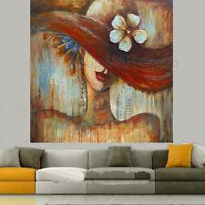 "Artistic Lady Matt Framed Painting By Dreamzdecor-12""x 12"" Size."