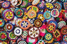 Danza del vientre afgano tribal kuchi gypsy Medallón venta al por mayor Lote de 50 piezas (pequeño)