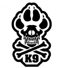 MSM K9 UNIT POLICE DOGS TACTICAL MORALE MILITARY CAR WINDOW DECAL STICKER