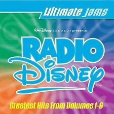 Radio Disney: Ultimate Jams Greatest Hits from Vol. 1 - 6 20 *NO CASE DISC ONLY*