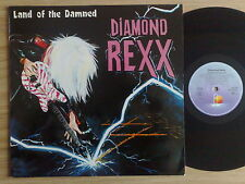 "DIAMOND REXX - LAND OF THE DAMNED - LP 33 GIRI 12"" GERMAN PRESS"