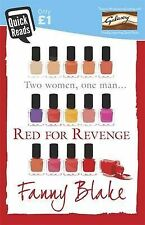 """Blake, Fanny Red for Revenge (Quick Reads 2015) """"AS NEW"""" Book"""