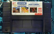 Natsume Collection (Super Nintendo, SNES) Wild Guns,Pocky & Rocky,Ninja Warriors