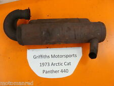 73 74 Arctic Cat Panther 440 T1B440S1A EXHAUST PIPE MUFFLER SILENCER CAN OEM