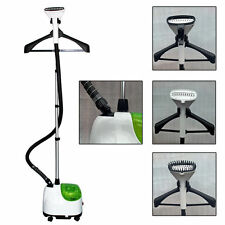 Moss PROFESSIONAL FABRIC CLOTHES SILK GARMENT STEAMER IRON HEAT + ATTACHMENTS