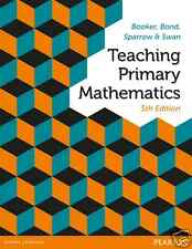 NEW - 3 DAYS to AUS - Teaching Primary Mathematics by Booker 5E - 9781486002689