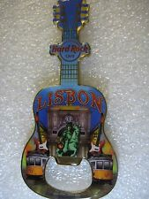 LISBON,Hard Rock Cafe,BOTTLE OPENER MAGNET V-14