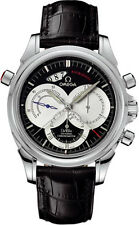 OMEGA De Ville Chronoscope Co-axial Rattrapante Watch 4847.50.31 - RRP £8730 NEW