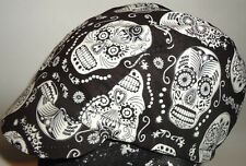CYCLING CAP ONE SIZE  SKULL GLOW IN THE DARK 100% COTTON