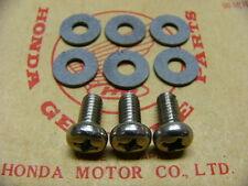 Honda CB 750 Four K0 K1 K2  Dichtringe und Schrauben  Set für Hitzeschutzblech