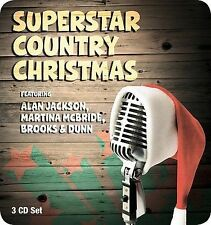 Superstar Country Christmas by Various Artists (CD, Nov-2007, 3 Disc Set)New